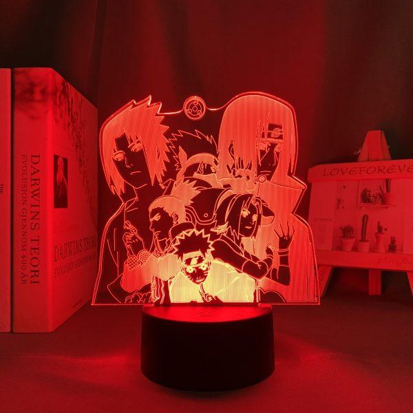 SHIPPUDEN LED ANIME LAMP (NARUTO) Otaku0705 TOUCH Official Anime Light Lamp Merch