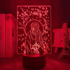 OBITO ZONE LED ANIME LAMP (NARUTO) Otaku0705 TOUCH Official Anime Light Lamp Merch