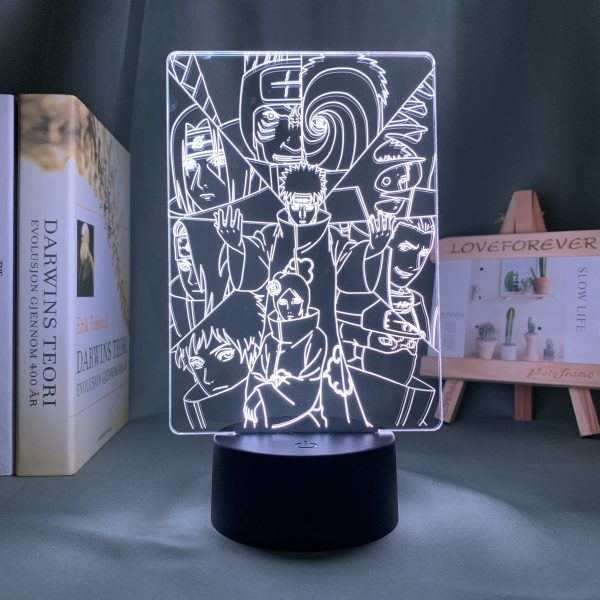 IMG 3022 - Anime 3D lamp