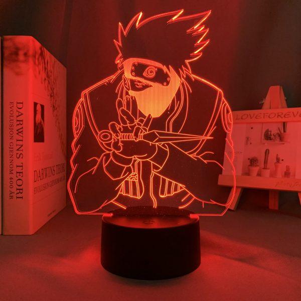 KAKASHI HATAKE LED LAMP (NARUTO) Otaku0705 TOUCH Official Anime Light Lamp Merch