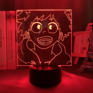 HAPPY DEKU LED ANIME LAMP (MY HERO ACADEMIA) Otaku0705 TOUCH Official Anime Light Lamp Merch