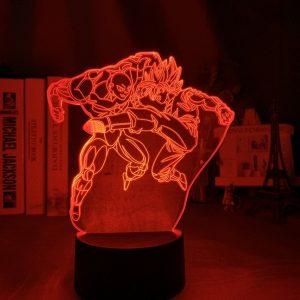 GOKU VS JIREN LED ANIME LAMP (DBZ) Otaku0705 TOUCH +(REMOTE) Official Anime Light Lamp Merch
