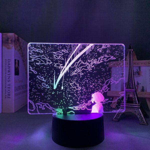 MITSUHA'S SERENITY LED ANIME LAMP (YOUR NAME) Otaku0705 TOUCH X2 TONE Official Anime Light Lamp Merch