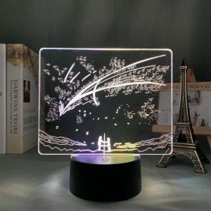 MITSUHA AND TAKI LED ANIME LAMP (YOUR NAME) Otaku0705 TOUCH X2 TONE Official Anime Light Lamp Merch