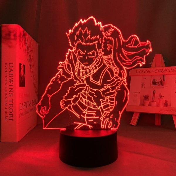 IZUKU AND ERI LED ANIME LAMP (MY HERO ACADEMIA) Otaku0705 TOUCH Official Anime Light Lamp Merch