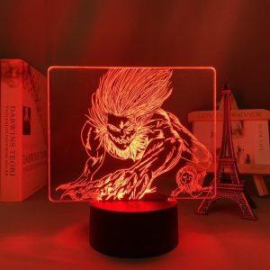 THE JAW TITAN LED ANIME LAMP (ATTACK ON TITAN) Otaku0705 TOUCH Official Anime Light Lamp Merch