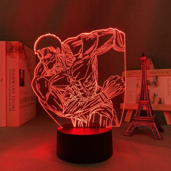 THE ARMOURED TITAN LED ANIME LAMP (ATTACK ON TITAN) Otaku0705 TOUCH Official Anime Light Lamp Merch
