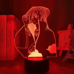 ITACHI SHONEN LED ANIME LAMP (NARUTO) Otaku0705 TOUCH +(REMOTE) Official Anime Light Lamp Merch