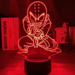KRILLIN LED ANIME LAMP (DBZ) Otaku0705 TOUCH +(REMOTE) Official Anime Light Lamp Merch