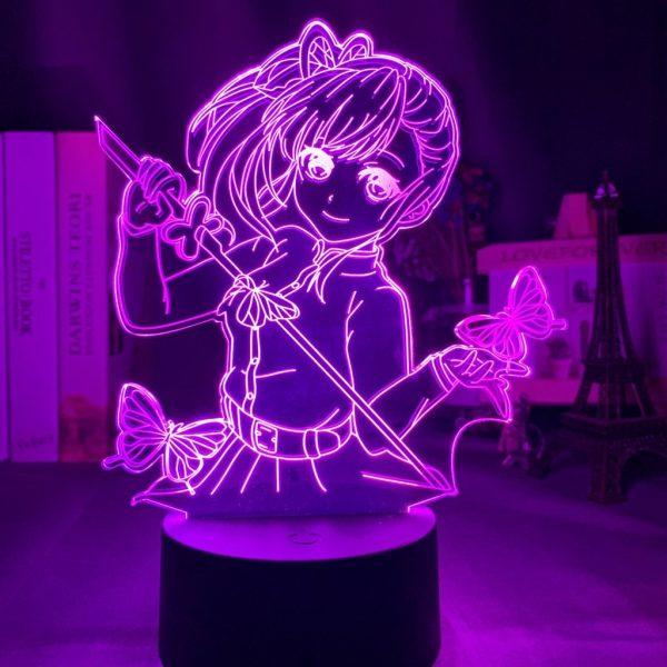 IMG 3913 - Anime 3D lamp