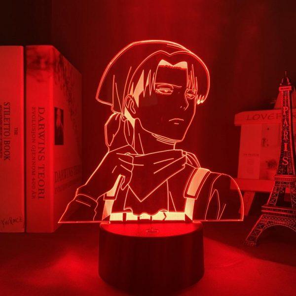 LEVI CLEAN LED ANIME LAMP (ATTACK ON TITAN) Otaku0705 TOUCH Official Anime Light Lamp Merch