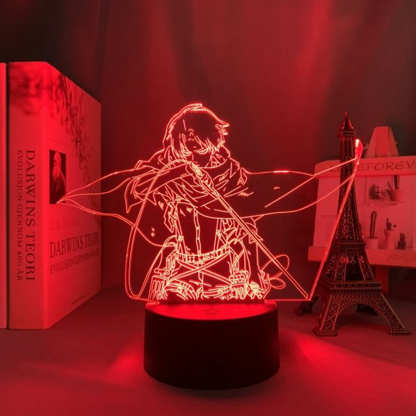 LEVI BLADE LED ANIME LAMP (ATTACK ON TITAN) Otaku0705 TOUCH +(REMOTE) Official Anime Light Lamp Merch
