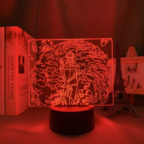 CANT TOUCH GOJO LED ANIME LAMP (JUJUTSU KAISEN) Otaku0705 TOUCH +(REMOTE Official Anime Light Lamp Merch