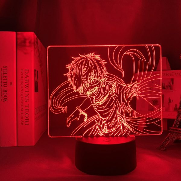 KENS UNLEASHED LED ANIME LAMP (TOKYO GHOUL) Otaku0705 TOUCH +(REMOTE) Official Anime Light Lamp Merch