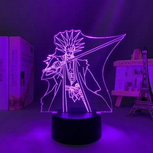 KENPACHI ZARAKI LED ANIME LAMP (BLEACH) Otaku0705 TOUCH +(REMOTE) Official Anime Light Lamp Merch