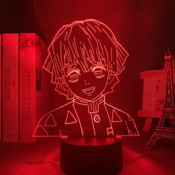 ZENITSU LED ANIME LAMP (DEMON SLAYER) Otaku0705 TOUCH Official Anime Light Lamp Merch