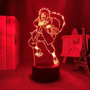 JIRAIYA ATTACK LED ANIME LAMP (NARUTO) Otaku0705 TOUCH Official Anime Light Lamp Merch