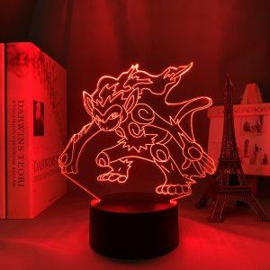 INFERNAPE LED ANIME LAMP (POKEMON) Otaku0705 TOUCH +(REMOTE) Official Anime Light Lamp Merch