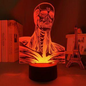 COLOSSUS TITAN LED ANIME LAMP (ATTACK ON TITAN) Otaku0705 TOUCH Official Anime Light Lamp Merch