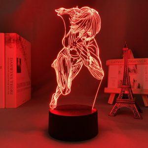 FEMALE TITAN LED ANIME LAMP (ATTACK ON TITAN) Otaku0705 TOUCH Official Anime Light Lamp Merch