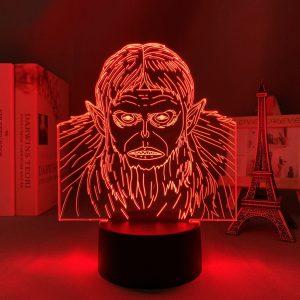 BEAST TITAN LED ANIME LAMP (ATTACK ON TITAN) Otaku0705 TOUCH Official Anime Light Lamp Merch