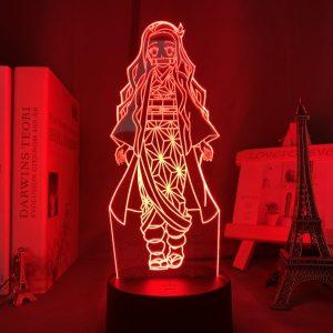 NEZUKO KAMADO LED ANIME LAMP (DEMON SLAYER) Otaku0705 TOUCH Official Anime Light Lamp Merch