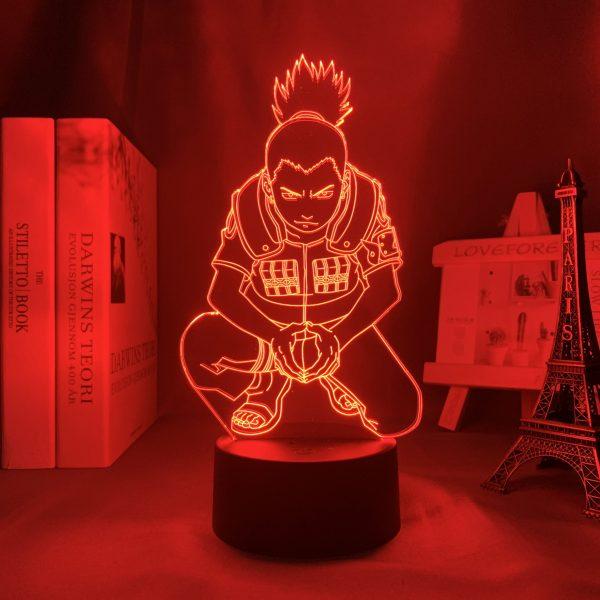 SHIKAMARU NARA LED ANIME LAMP (NARUTO) Otaku0705 TOUCH +(REMOTE) Official Anime Light Lamp Merch