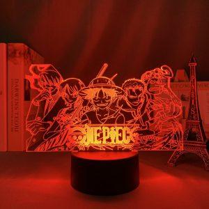ONE PIECE TEAM ELITE LED ANIME LAMP (ONE PIECE) Otaku0705 TOUCH Official Anime Light Lamp Merch