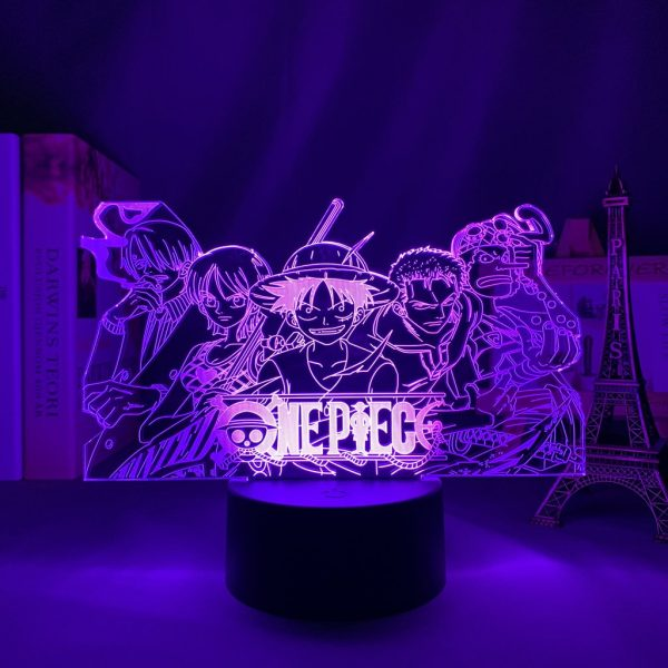 IMG 5163 - Anime 3D lamp