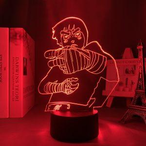 ROCK LEE + LED ANIME LAMP (NARUTO) Otaku0705 TOUCH Official Anime Light Lamp Merch