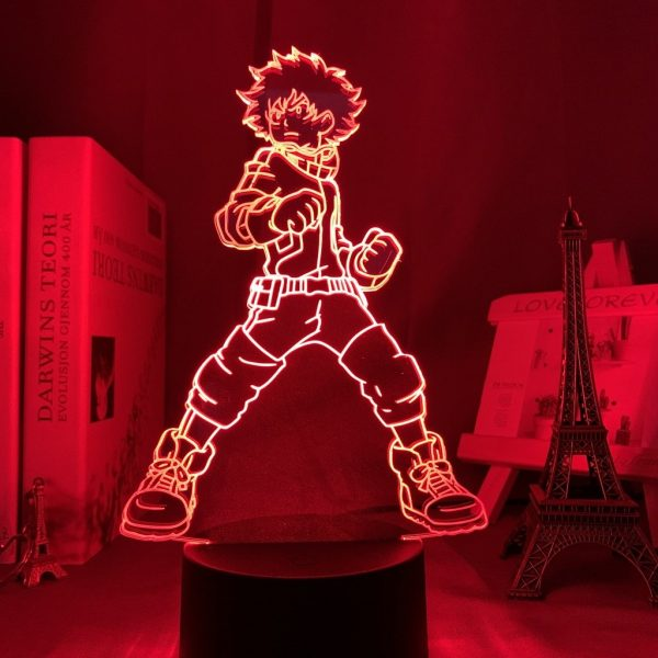 IZUKU MIDORIYA LED ANIME LAMP (MY HERO ACADEMIA) Otaku0705 TOUCH Official Anime Light Lamp Merch