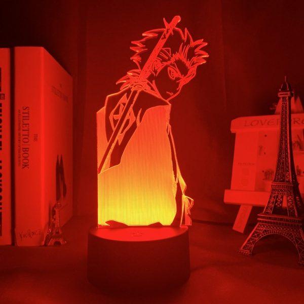 TOSHIRO HITSUGAYA LED ANIME LAMP (BLEACH) Otaku0705 TOUCH +(REMOTE) Official Anime Light Lamp Merch
