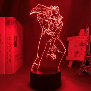 YORUICHI SHIHOIN LED ANIME LAMP (BLEACH) Otaku0705 TOUCH +(REMOTE) Official Anime Light Lamp Merch