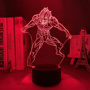 THE ATTACK TITAN LED ANIME LAMP (ATTACK ON TITAN) Otaku0705 TOUCH Official Anime Light Lamp Merch