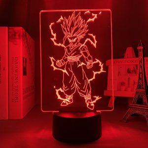 SAIYAN GOHAN LED ANIME LAMP (DBZ) Otaku0705 TOUCH Official Anime Light Lamp Merch