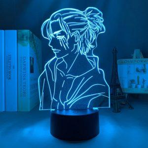 SLICK EREN LED ANIME LAMP (ATTACK ON TITAN) Otaku0705 TOUCH +(REMOTE) Official Anime Light Lamp Merch