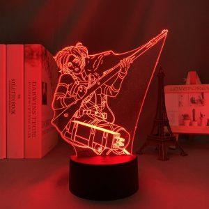 SASHA LED ANIME LAMP (ATTACK ON TITANS) Otaku0705 TOUCH +(REMOTE) Official Anime Light Lamp Merch