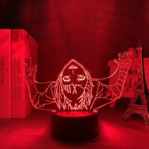 PLAYFUL JUUZOU LED ANIME LAMP (TOKYO GHOUL) Otaku0705 TOUCH +(REMOTE) Official Anime Light Lamp Merch