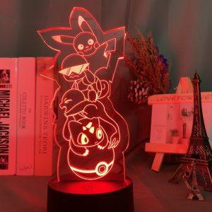 KANTO STARTERS LED ANIME LAMP (POKEMON) Otaku0705 TOUCH Official Anime Light Lamp Merch