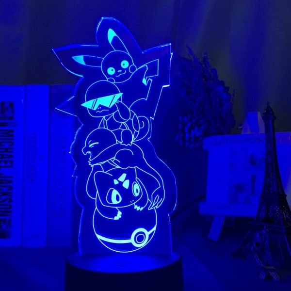 IMG 7413 - Anime 3D lamp