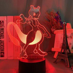MEWTWO LED ANIME LAMP (POKEMON) Otaku0705 TOUCH +(REMOTE) Official Anime Light Lamp Merch