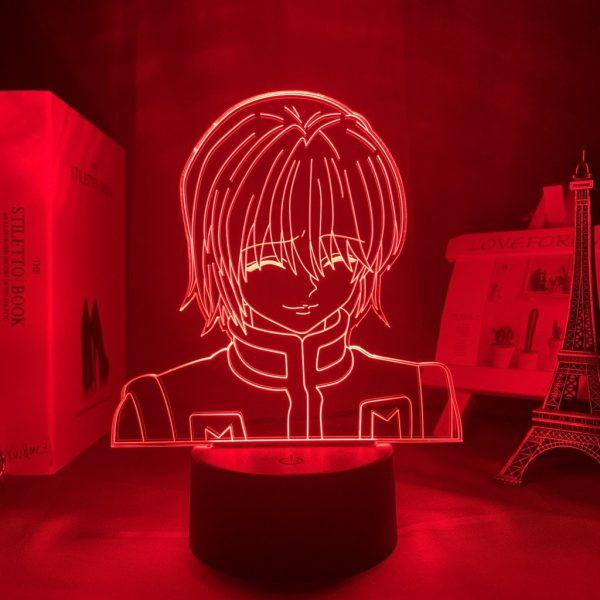 KURAPIKA LED ANIME LAMP (HUNTER X HUNTER) Otaku0705 TOUCH +(REMOTE) Official Anime Light Lamp Merch