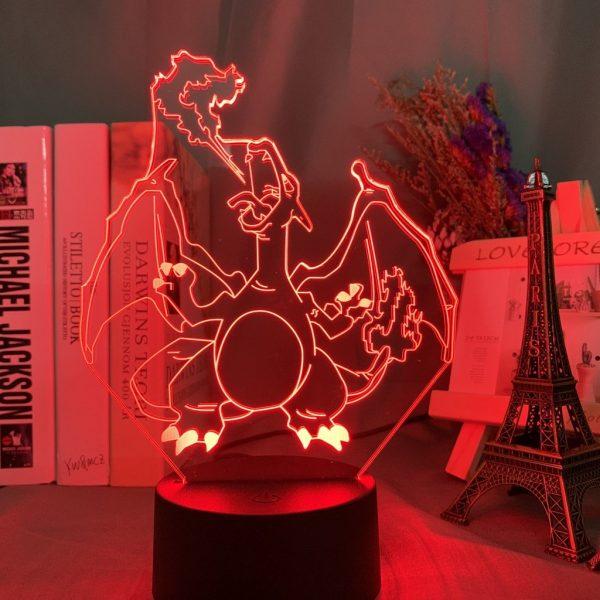 CHARIZARD LED ANIME LAMP (POKEMON) Otaku0705 TOUCH +(REMOTE) Official Anime Light Lamp Merch