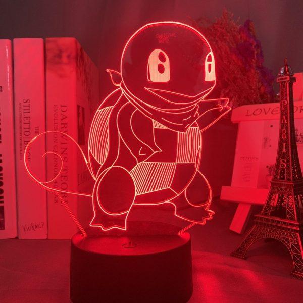 SQUIRTLE LED ANIME LAMP (POKEMON) Otaku0705 TOUCH Official Anime Light Lamp Merch