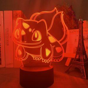 BULBASAUR LED ANIME LAMP (POKEMON) Otaku0705 TOUCH Official Anime Light Lamp Merch
