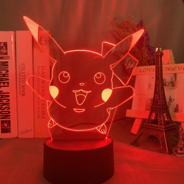 PIKACHI LED ANIME LAMP (POKEMON) Otaku0705 TOUCH Official Anime Light Lamp Merch