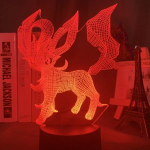 LEAFEON LED ANIME LAMP (POKEMON) Otaku0705 TOUCH Official Anime Light Lamp Merch