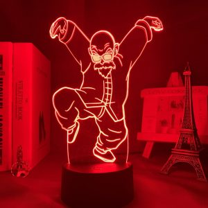 MASTER ROSHI LED ANIME LAMP (DBZ) Otaku0705 TOUCH +(REMOTE) Official Anime Light Lamp Merch
