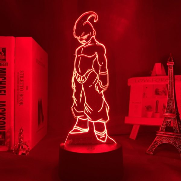 MAJIN BUU LED ANIME LAMP (DBZ) Otaku0705 TOUCH +(REMOTE) Official Anime Light Lamp Merch