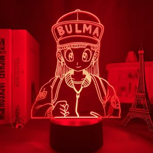 BULMA LED ANIME LAMP (DBZ) Otaku0705 TOUCH +(REMOTE) Official Anime Light Lamp Merch